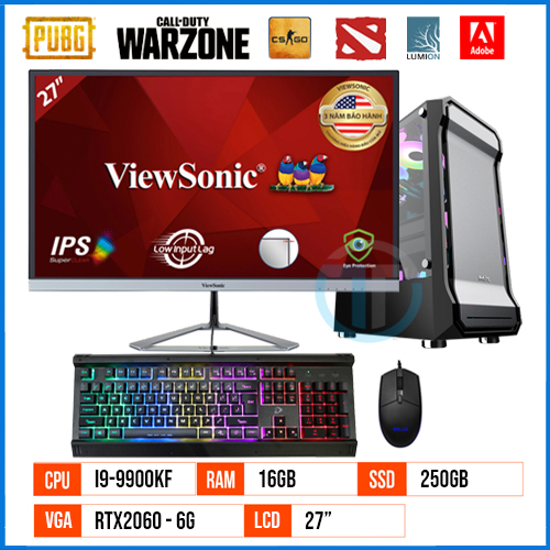 PC Gaming - Workstation GT9900KF – Core i9 9900KF