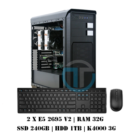 Workstation Dual E5 2695v2