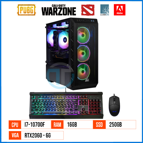 PC Gaming & Workstation RT10700F – Gen 10 – Core i7 10700F 2
