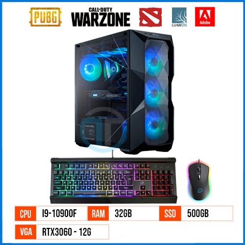 PC Gaming & Workstation RT10900F – Gen 10 – Core i9 10900F 1