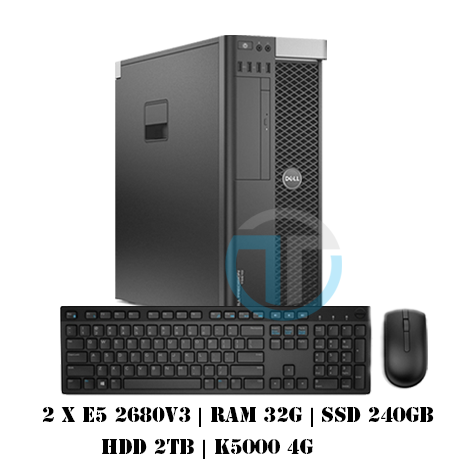 Workstation T7810 - Dual E5 2680v3