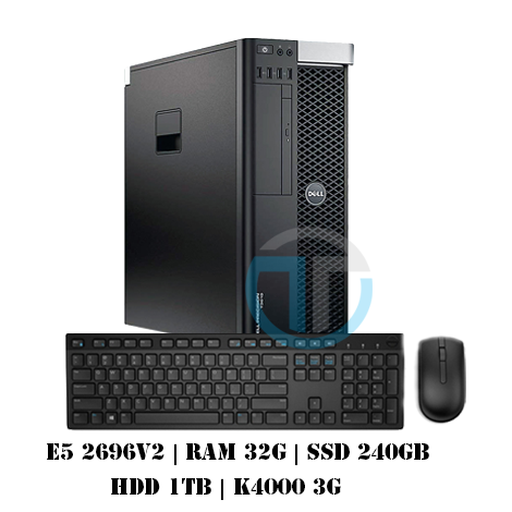 Workstation T3610 - E5 2696v2 k4000