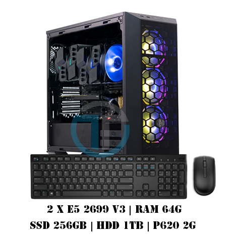 Workstation Dual E5 2699v3 P620